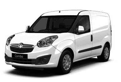 Vauxhall Combo Van 2018 by Quadrant Vehicles