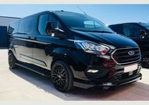 Ford Transit Custom 320 170ps Limited L2 Lwb DCIV Double Cab in Van Crew Q Sport by Quadrant Vehicles