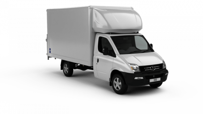 LDV V80 Luton By Quadrant Vehicles
