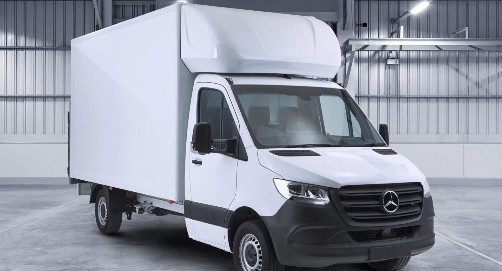 Mercedes Sprinter Luton by Quadrant Vehicles