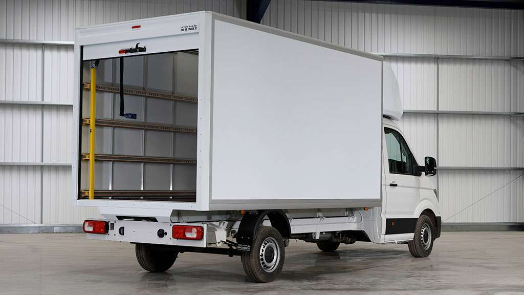 Volkswagen Crafter Luton by Quadrant Vehicles