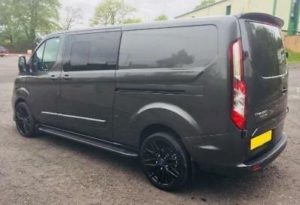 Ford Transit Custom 320 130ps Auto Limited L1 Swb DCIV Double Cab Crew Q Sport 3 by Quadrant Vehicles
