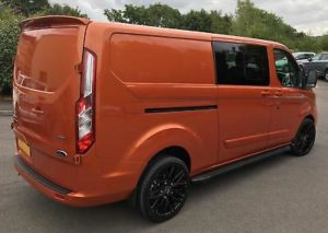 Ford Transit Custom 320 130ps Auto Ltd L2 Lwb DCIV Double Cab Van Crew Q Sport 3 by Quadrant Vehicles