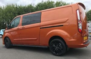 Ford Transit Custom 320 130ps Auto Ltd L2 Lwb DCIV Double Cab Van Crew Q Sport 4 by Quadrant Vehicles