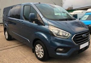 Ford Transit Custom 320 130ps L2 Limited Double Cab in Van Crew Van 2 By Quadrant Vehicles