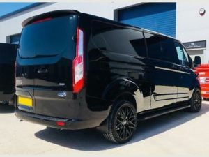 Ford Transit Custom 320 130ps Limited L1 DCIV Double Cab Crew Q Sport 5 by Quadrant Vehicles