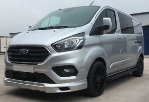 Ford Transit Custom 320 130ps Limited L2 Lwb DCIV Double Cab in Van Crew Q Sport 1 by Quadrant Vehicles