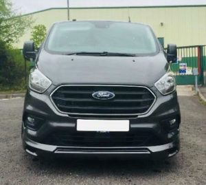 Ford Transit Custom 320 130ps Limited L2 Lwb DCIV Double Cab in Van Crew Q Sport 11 by Quadrant Vehicles