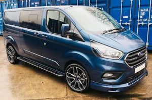 Ford Transit Custom 320 130ps Limited L2 Lwb DCIV Double Cab in Van Crew Q Sport 2- by Quadrant Vehicles