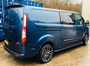 Ford Transit Custom 320 130ps Limited L2 Lwb DCIV Double Cab in Van Crew Q Sport 3- by Quadrant Vehicles