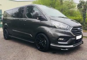 Ford Transit Custom 320 130ps Limited L2 Lwb DCIV Double Cab in Van Crew Q Sport 4 by Quadrant Vehicles