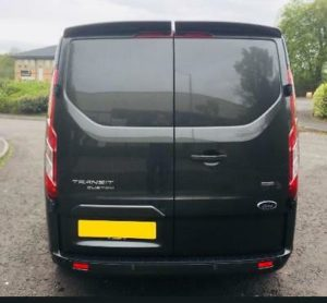 Ford Transit Custom 320 130ps Limited L2 Lwb DCIV Double Cab in Van Crew Q Sport 5 by Quadrant Vehicles
