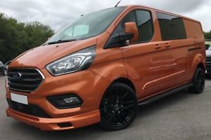 Ford Transit Custom 320 130ps Limited L2 Lwb DCIV Double Cab in Van Crew Q Sport by Quadrant Vehicles
