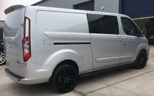 Ford Transit Custom 320 170ps Auto Limited L2 Lwb DCIV Double Cab Crew Q Sport 6 by Quadrant Vehicles