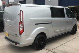 Ford Transit Custom 320 170ps Auto Limited L2 Lwb DCIV Double Cab Crew Q Sport 8 by Quadrant Vehicles