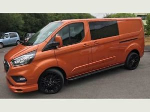 Ford Transit Custom 320 170ps Auto Ltd L2 Lwb DCIV Double Cab Van Crew Q Sport 4 by Quadrant Vehicles