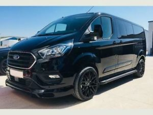 Ford Transit Custom 320 170ps Limited L2 Lwb DCIV Double Cab in Van Crew Q Sport 2 by Quadrant Vehicles