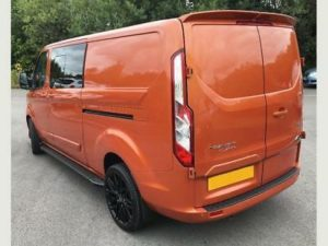 Ford Transit Custom 320 170ps Limited L2 Lwb DCIV Double Cab in Van Crew Q Sport 5 by Quadrant Vehicles
