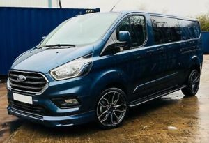 Ford Transit Custom 320 185ps Auto Ltd L2 Lwb DCIV Double Cab Van Crew Q Sport 1 by Quadrant Vehicles