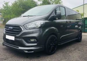 Ford Transit Custom 320 185ps Auto Ltd L2 Lwb DCIV Double Cab Van Crew Q Sport 2 by Quadrant Vehicles