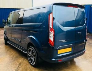 Ford Transit Custom 320 185ps Auto Ltd L2 Lwb DCIV Double Cab Van Crew Q Sport 3 by Quadrant Vehicles