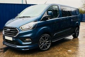 Ford Transit Custom 320 185ps Auto Ltd L2 Lwb DCIV Double Cab Van Crew Q Sport 4 by Quadrant Vehicles