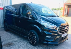 Ford Transit Custom 320 DCIV L2 LWB 185ps Auto Q Sport by Quadrant Vehicles