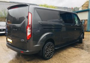 Ford Transit Custom 320 L2 DCIV 185ps Auto Limited Q Sport - 1