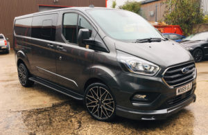 Ford Transit Custom 320 L2 DCIV 185ps Auto Limited Q Sport by Quadrant Vehicles - 7