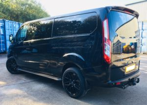 Ford Transit Custom 320 L2 DCIV 185ps Auto ltd Q Sport Tailgate - Side Left