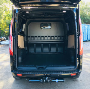 Ford Transit Custom 320 L2 DCIV 185ps Auto ltd Q Sport Tailgate - Rear Back