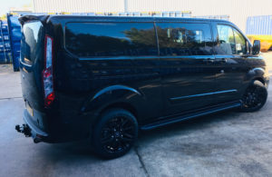 Ford Transit Custom 320 L2 DCIV 185ps Auto ltd Q Sport Tailgate - Side Right
