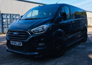 Ford Transit Custom 320 L2 DCIV 185ps Auto ltd Q Sport Tailgate by Quadrant Vehicles - 3