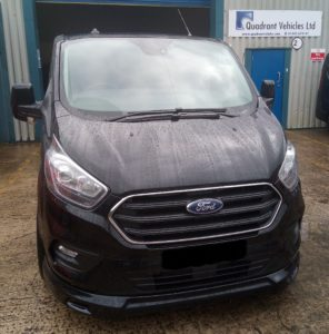 Ford Transit Custom Q Sport Exterior by Quadrant Vehicles