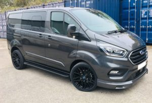 Magnetic Grey Ford Transit Custom 320 L1 SWB DCIV 185ps Auto Q Sport-9-Quadrant Vehicles
