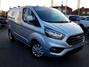 New Facelift Model Ford Transit Custom 280 2.0Tdci 130ps L1 H1 Limited 3 By Quadrant Vehicles
