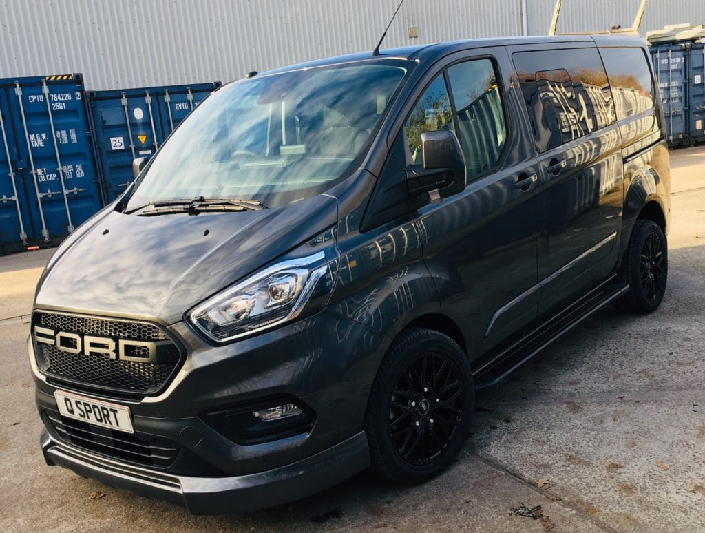 Ford Transit Custom 320 L1 130ps DCIV Q Sport - Front Left - Quadrant Vehicles