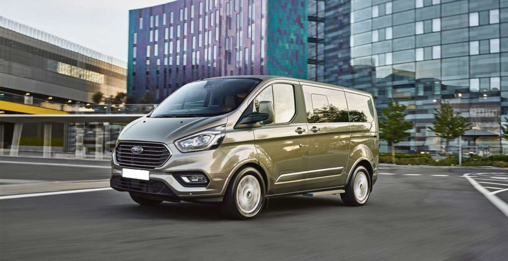 Ford Transit Custom Double Cab in Van by Quadrant Vehicles