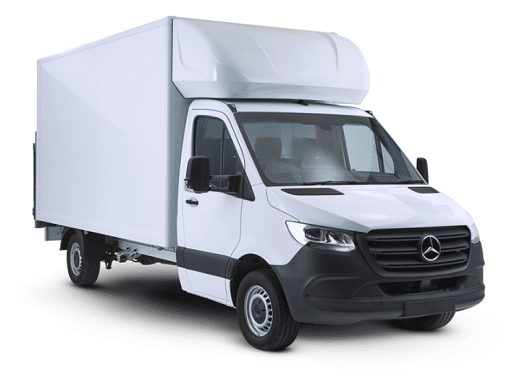 Mercedes Sprinter Luton Van by Quadrant Vehicles