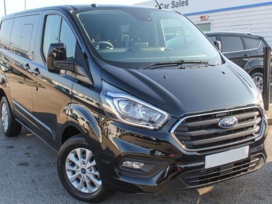 New Euro 6 Ford Transit Custom 310 2.0Tdci 130ps L2 LWB Limited Crew Double Cab