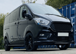 Ford Custom DCIV 185ps Auto Q Sport Black Edition Blank Grille by Quadrant Vehicles