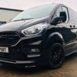 Ford-Transit-Custom-Q-Sport-with-Ford-Grille-Up-Close-Quadrant-Vehicles