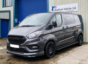 Grey-Ford-Transit-Custom-DCIV-185ps-Auto-Q-Sport-by-Quadrant-Vehicles