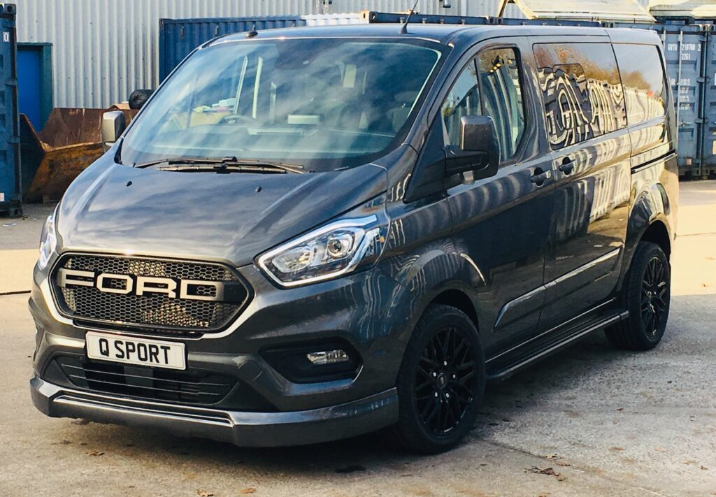 Transit Custom Q Sport with Ford Grille by Quadrant Vehicles