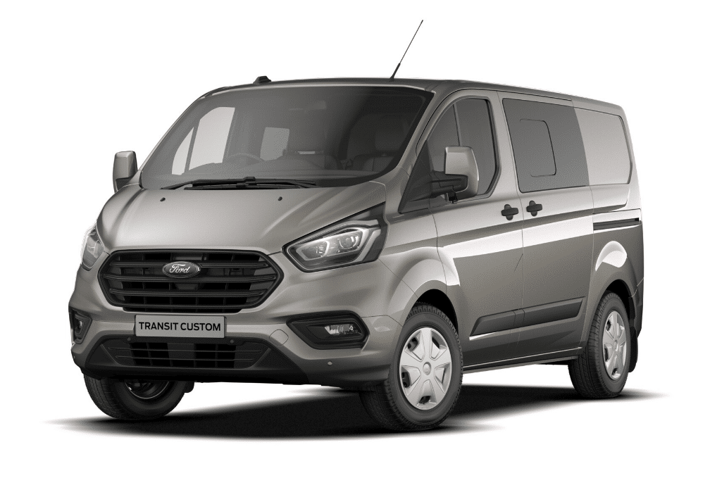 Ford Transit Custom Double Cab by Quadrant Vehicles