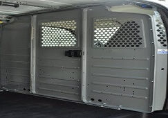 Bulkhead Van Security by Quadrant Vehicles