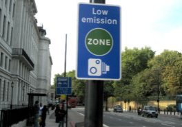 London Low Emission Zone by Quadrant Vehicles