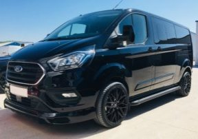 New Ford Transit Custom Black DCIV 2