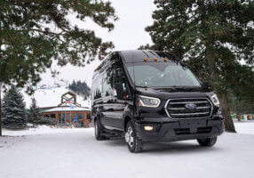 Snowy Weather by Quadrant Vehicles